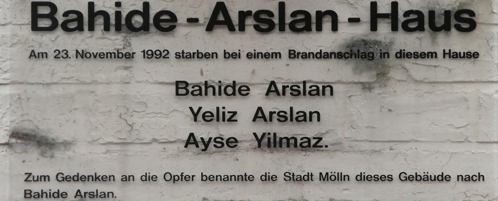 Gedenkfeier für die Opfer des Brandanschlags von Mölln