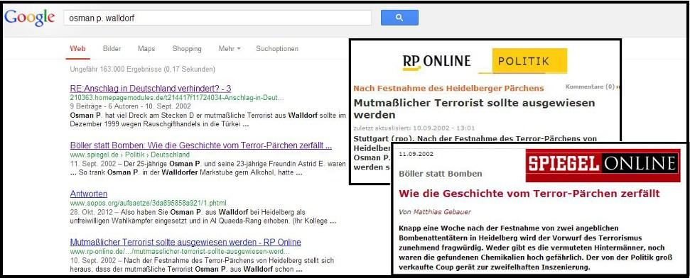 Kennt der niedersächsische Verfassungsschutz kein Google?