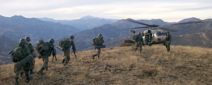 Großoperationen der PKK verlaufen im Sande