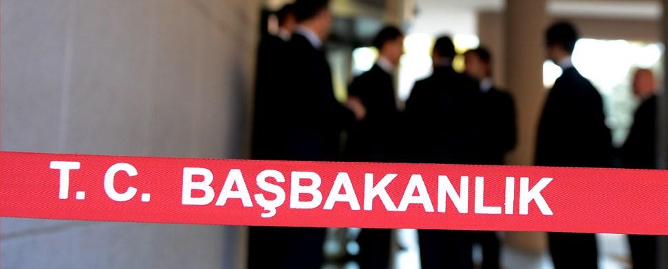 Schüsse im Amtssitz des türkischen Premierministers