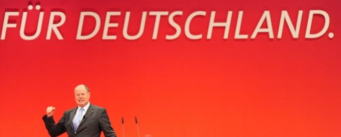 """Steinbrück: """"Es ist Zeit für einen Wechsel"""""""