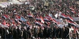 Schiitischer Geistlicher unterstützt sunnitische Demonstranten