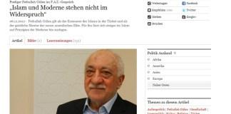 FAZ-Interview mit Fethullah Gülen deutscher Top Tweet 2012