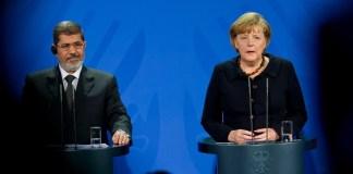 Kurzbesuch in Berlin: Mursi verspricht Rechtsstaat