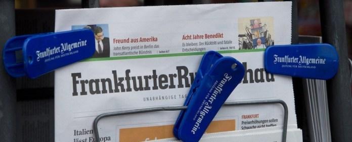 """""""Frankfurter Rundschau"""" bleibt erhalten"""