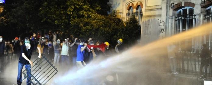 Erdoğan: Sturm auf Gezi-Protestlager
