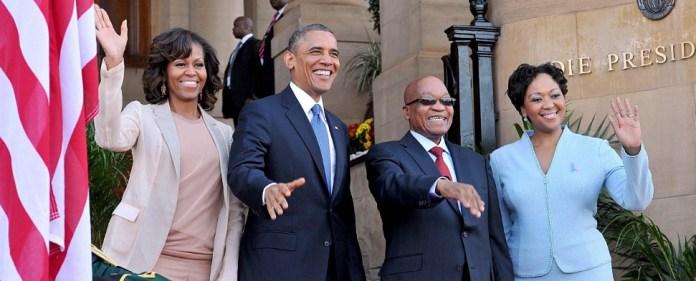 Obama besucht Südafrika, das immer noch um Mandela bangt