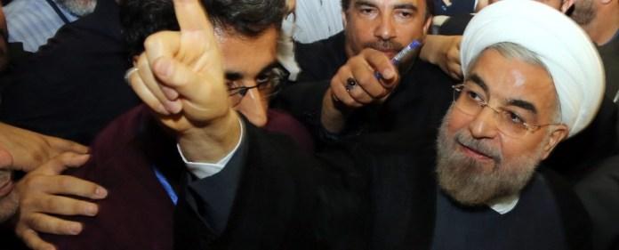 Reform-Kandidat Ruhani gewinnt Wahl im Iran
