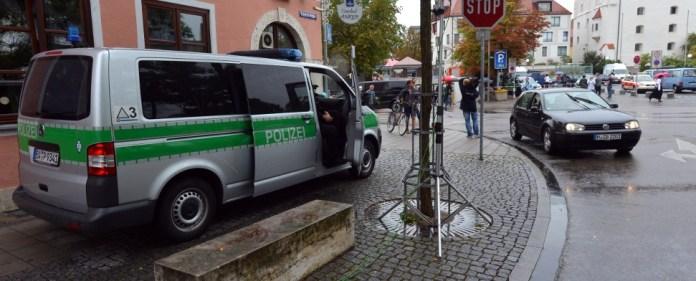 Ingolstadt: Geiselnahme im Rathaus vor Merkel-Veranstaltung