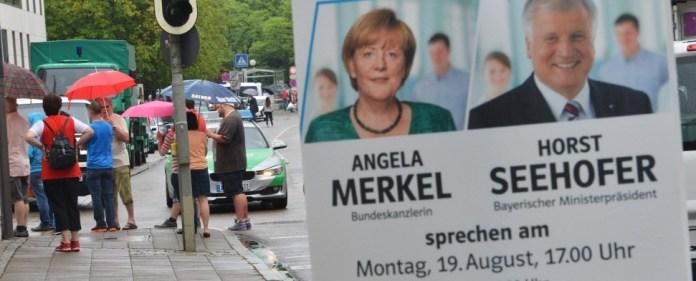 Geiselnahme in Ingolstadt: Merkel sagt Wahlkampfauftritt ab