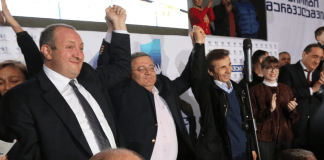 Georgiens neuer Ministerpräsident - Giorgi Margvelashwili - dpa