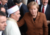 Merkel mit Imam