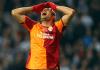 Burak Yilmaz von Galatasaray blieb auch im Spiel gegen den FC Kopenhagen glück- und torlos.