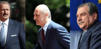 Zafer Caglayan, Erdogan Bayraktar und Muammer Güler