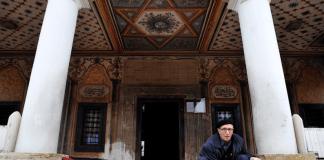 Eine Moschee in Tetovo / Mazedonien.