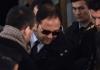 Der Sohn von Muammer Güler, Baris Güler, mit einer Sonnenbrille.