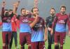 Trabzonspor Spieler nach dem Spiel - dha