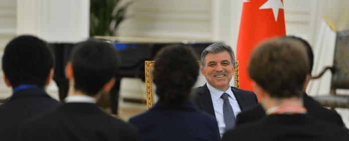 Der türkische Staatspräsident Gül.