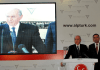 Devlet Bahceli bei einer Rede seiner Partei MHP