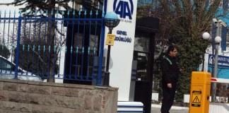 Der Hauptsitz der Anadolu Ajans in Ankara.