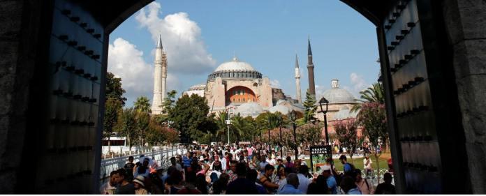 Die Haga Sophia in Istanbul.