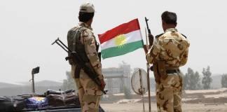 """Ein Peshmerga-Sprecher bestätigte, dass seine Kämpfer nach Kirkuk eingerückt sind, nachdem die irakische Armee ihre Posten aufgelassen hätte. """"Es ist keine irakische Armee mehr in Kirkuk"""""""
