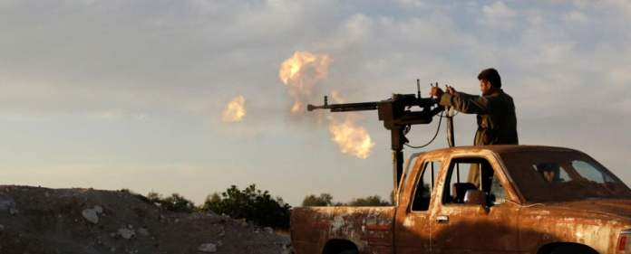 In Syrien tobt der Krieg unvermindert weiter.