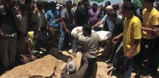 40 Prozent der Opfer der israelischen Angriffe seien Frauen und Kinder, sagen die Ärzte im Schifa-Krankenhaus.