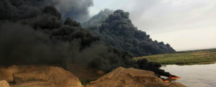 Im Südwesten Kirkuks hat ISIS mehrere wichtige Ölfelder besetzt. Die Organisation beginnt nun an der iranischen Grenze mit dem Verkauf des Öls.