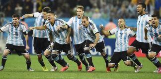 Ob die Argentinier auch beim morgigen Finale gegen Deutschland Grund zum jubeln haben? Laut einer Prognose der FU-Berlin ja!