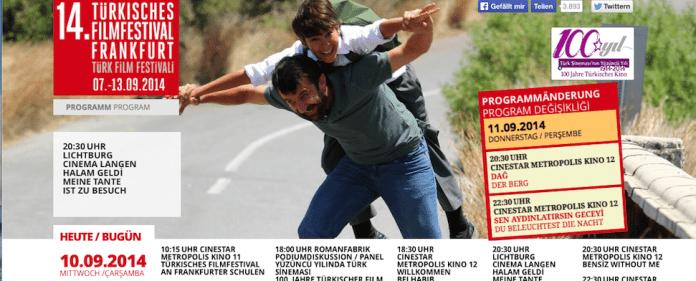 Das Türkische Filmfestival Frankfurt findet vom 07.-13. September 2014 statt.
