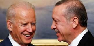 US-Vize Biden kam am Wochenende mit dem tükischen Präsidenten Erdogan zusammen,