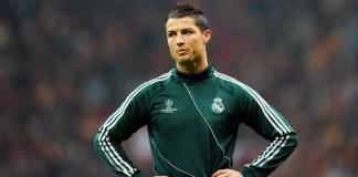 Cristiano Ronaldo von Real Madrid.