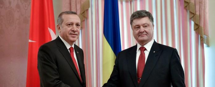 Erdogan und Poroschenko.