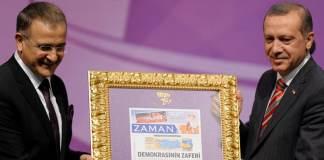 Recep Tayyip Erdoğan und Ekrem Dumanlı
