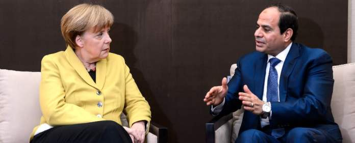 Merkel mit al-Sisi