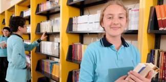 Schüler des Yamanlar Koleji in Izmir
