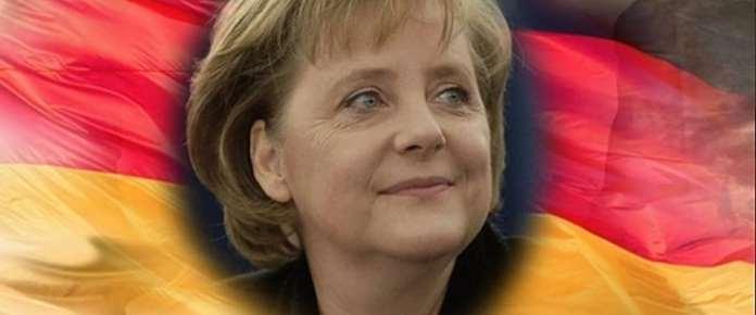 Syrische Flüchtlinge bedanken sich bei Merkel.