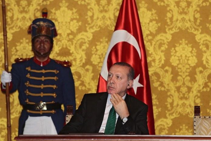 Präsident Erdoğan bei Staatsbesuch in Ecuador