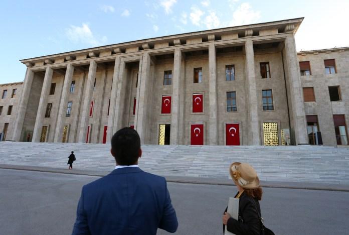 türkisches Parlament in Ankara