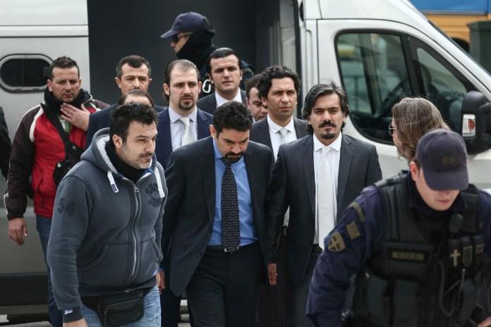 geflüchtete türkische Soldaten in Griechenland