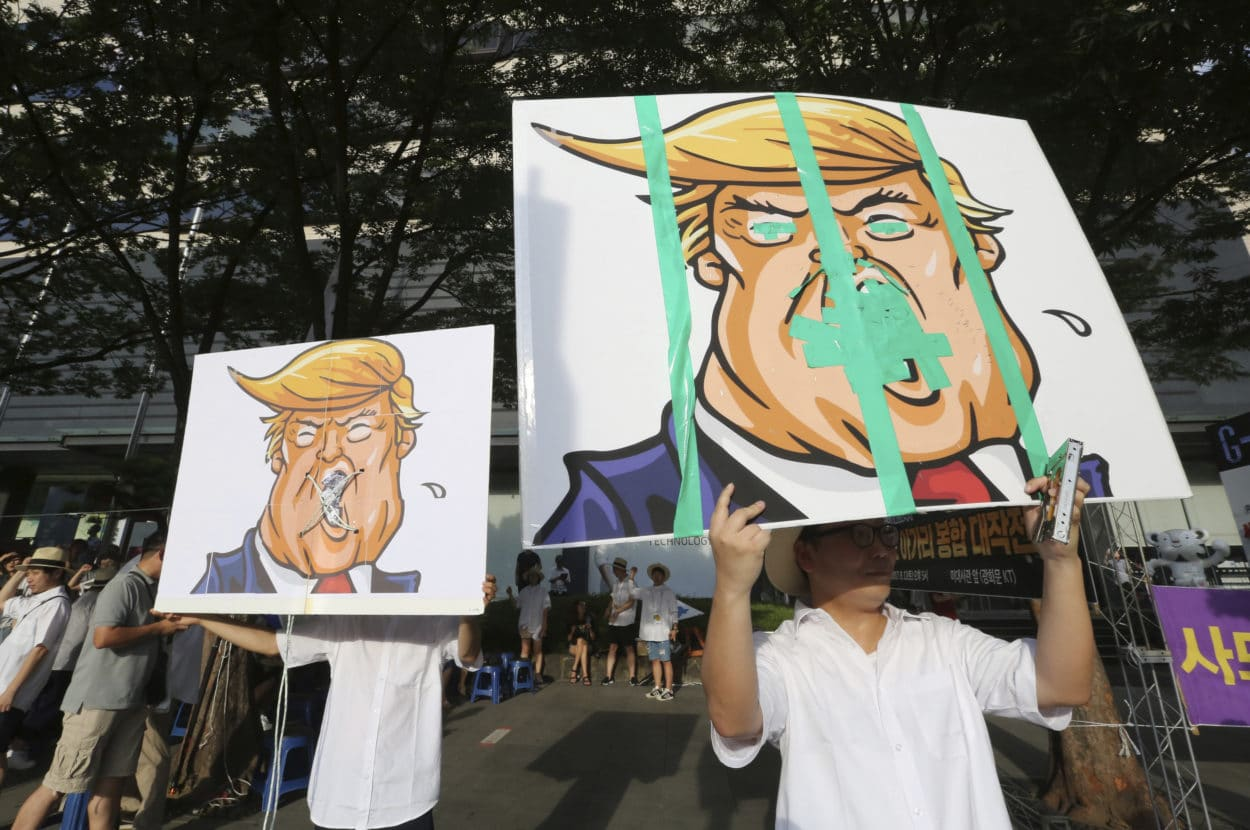 Nordkorea droht mit Angriff auf amerikanische Insel Guam