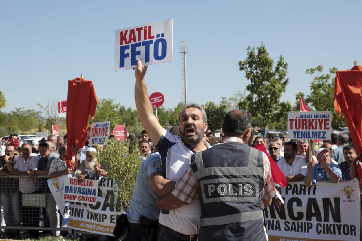 486 mutmaßliche Putschisten in Ankara vor Gericht