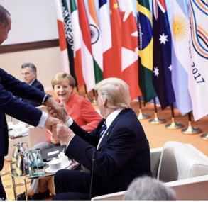 Erdogan Merkel und Trump 293x285 -