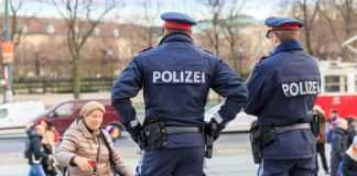 Polizei in Wien