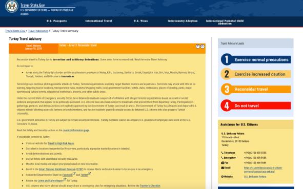 Bildschirmfoto 2018 01 12 um 13.52.23 670x419 - Erneut gegenseitiger Schlagabtausch: Türkei erlässt Reisewarnung für die USA