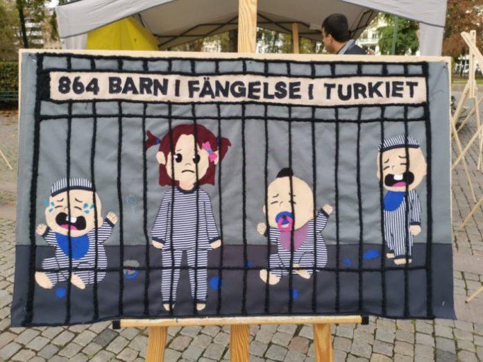 864 Babys in Gefängnissen. Türkei.