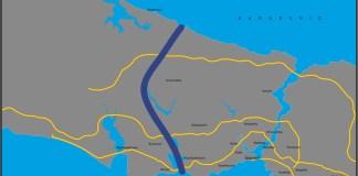 Kanal Istanbul Projekt.