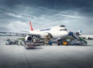 Turkish Cargo. Corona Muslime Tote Türkei.