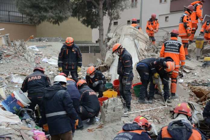Erdbebengefahr in Istanbul .